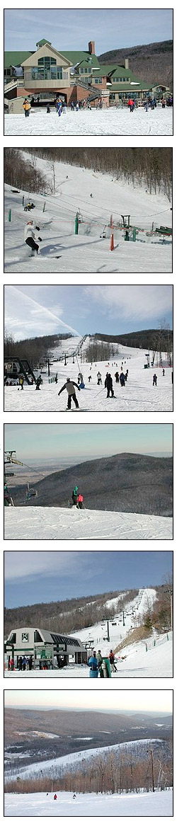 These photos were all taken at Whitetail on Wednesday, January 3, 2001.  Whitetail currently has some of its best conditions on record.