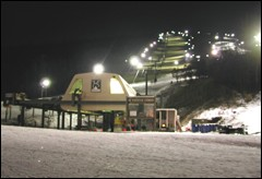 Guests to Whitetail Saturday night found great early-season conditions, and no lines.