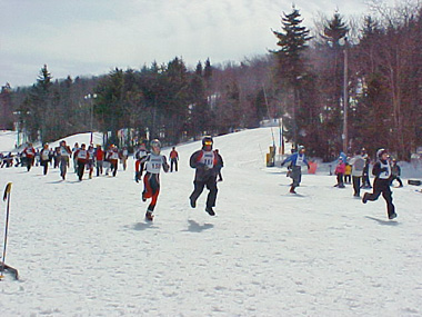 90 teams participated in the second annual Snowshoe24 24-hour race this past weekend.