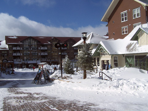 By January 26, Snowshoe had received 15 inches of fresh snow in two days.