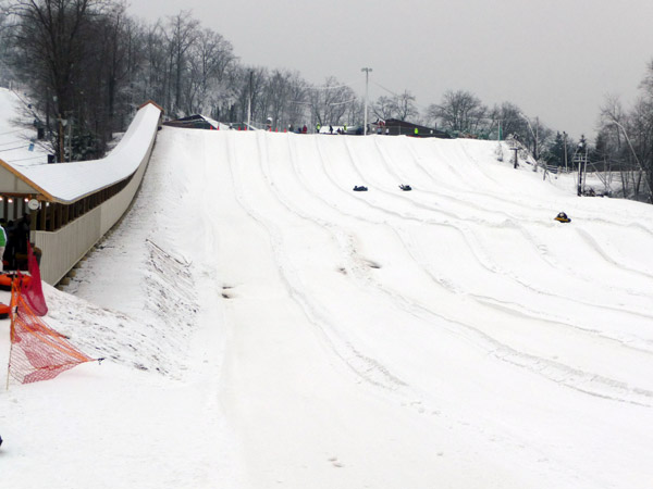 Firsthand Report Tubing At Ski Roundtop