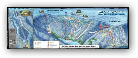 DCSki Resort Profile: Snowshoe on snowshoe wv, babcock state park map, cass scenic railroad map, snowshoe lodging, snowshoe village, snoqualmie valley trail map, holly river state park map, snowshoe restaurants, snowshoe western territory, snowshoe mountain,