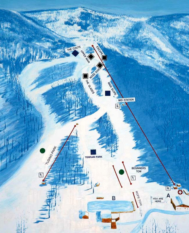 Skiing Virginia Map.Dcski Resort Profile The Homestead