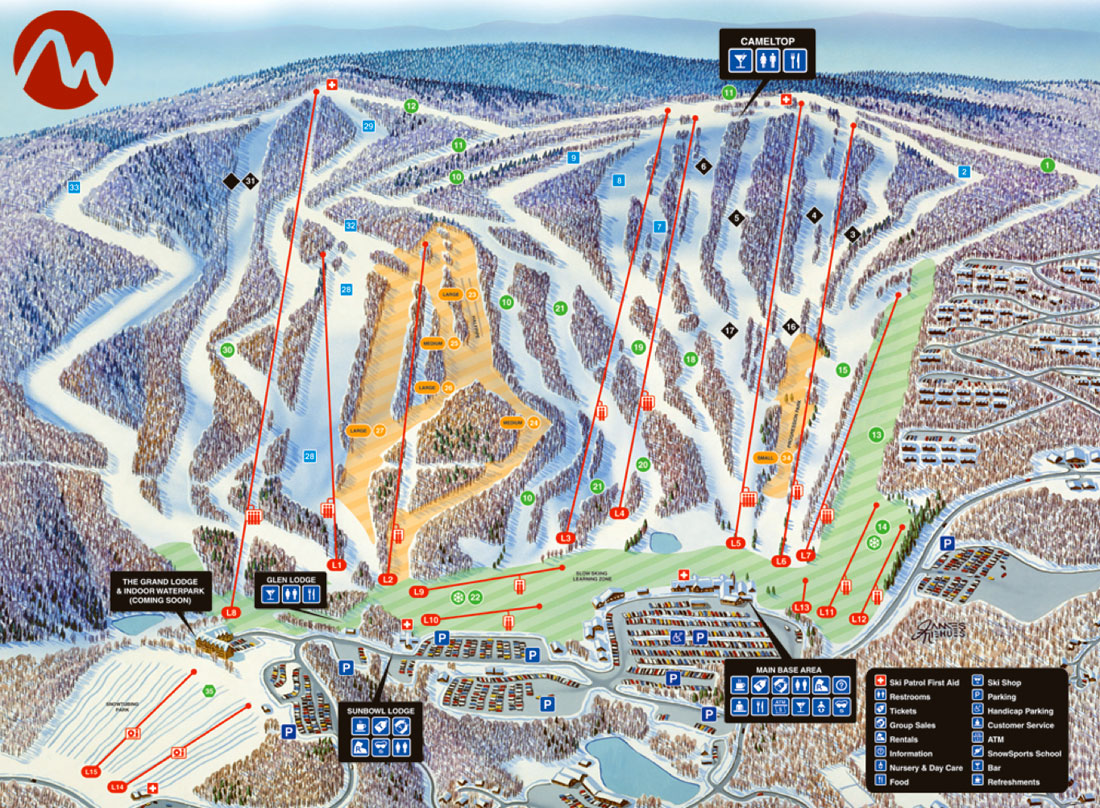 dcski resort profile  camelback