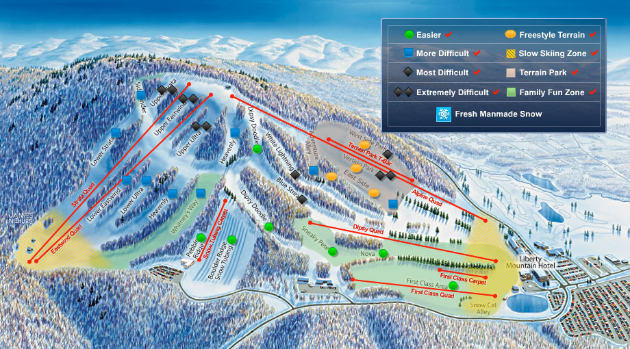 Getting To Liberty Mountain Resort