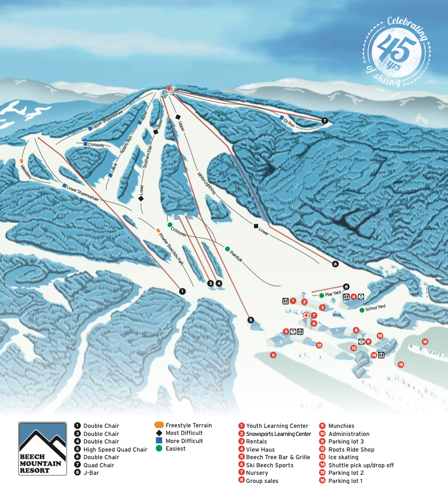 dcski resort profile: beech mountain